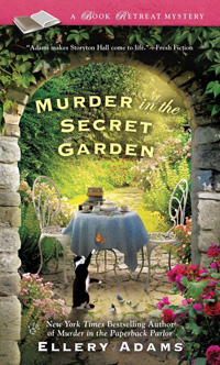 A Book Retreat Mystery - Murder in the Secret Garden