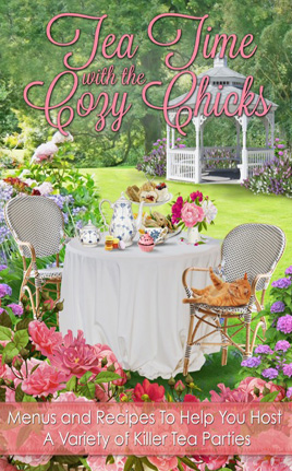 ellery adams' TEA TIME WITH THE COZY CHICKS